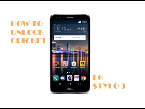 How To Unlock LG Stylo 3 Plus For Any Network